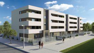 Promoción y construcción de pisos nuevos en Pamplona y Navarra.